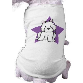 かわいいの星Westie ペット服