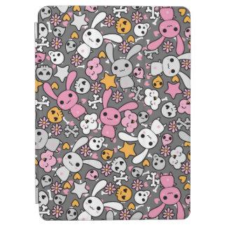 かわいいの灰色パターン iPad AIR カバー