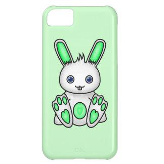 かわいいの真新しい緑のバニー iPhone5Cケース