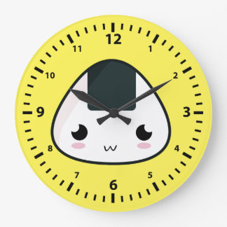 かわいいの米球 ラージ壁時計