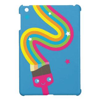 かわいいの絵筆のiPad Miniケース iPad Miniカバー
