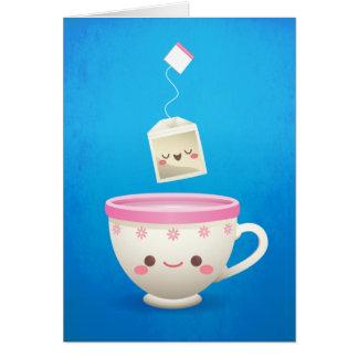 かわいいの茶時間 ノートカード