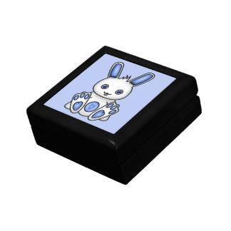 かわいいの青のバニー ギフトボックス