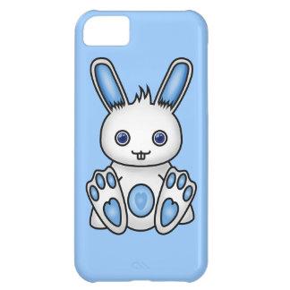 かわいいの青のバニー iPhone5Cケース