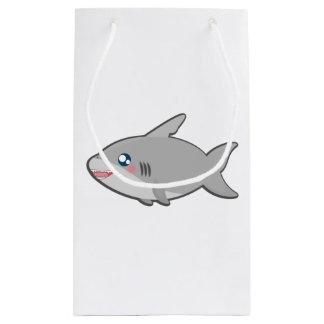かわいいの鮫のgiftbag スモールペーパーバッグ