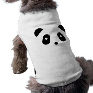 かわいいの~のかわいいパンダの顔 ペット服