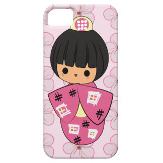 かわいいのKokeshiの人形のiPhoneの場合 iPhone SE/5/5s ケース