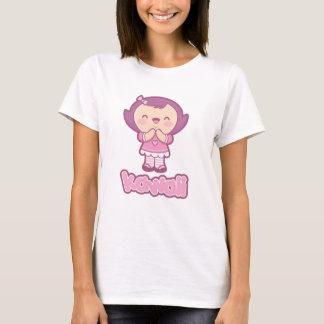 かわいいのMarikoのキャラクターのTシャツ Tシャツ
