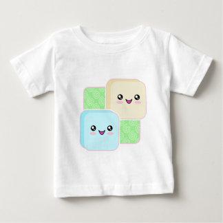 かわいいのMochiの乳児のTシャツ ベビーTシャツ