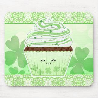 かわいいのSt patricks dayのかわいいカップケーキ マウスパッド