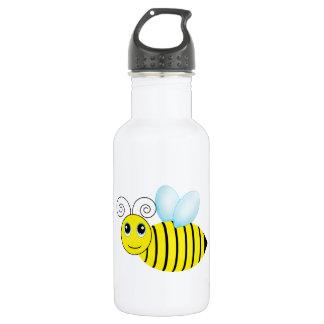 かわいいぶんぶんうなる蜂蜜の蜂 ウォーターボトル