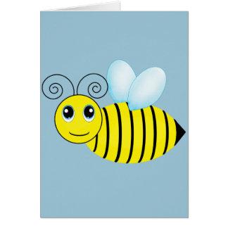 かわいいぶんぶんうなる蜂蜜の蜂 カード