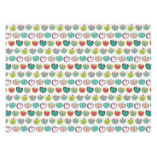 かわいいりんごパターン テーブルクロス