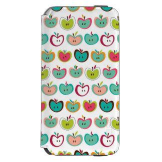 かわいいりんごパターン INCIPIO WATSON™ iPhone 6 ウォレットケース