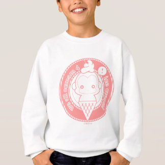 かわいいアイスクリーム猿 スウェットシャツ
