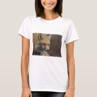 かわいいアカギツネ Tシャツ