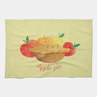 かわいいアップルパイ キッチンタオル