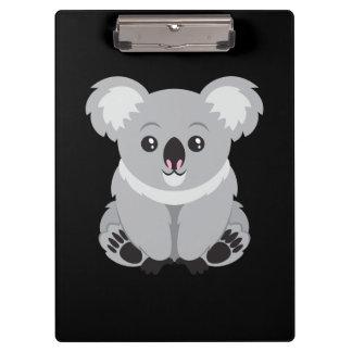 かわいいアニメのコアラ クリップボード