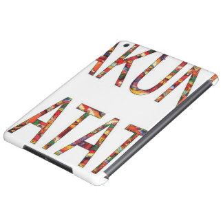 かわいいアフリカのヴィンテージ色Hakuna Matata iPad Airケース
