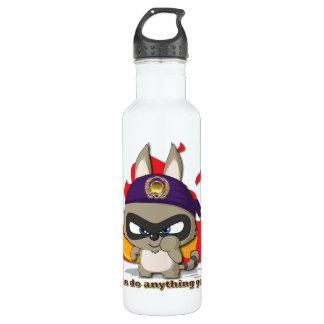 かわいいアライグマのおもしろいなマンガのキャラクタのかわいいのボトル ウォーターボトル