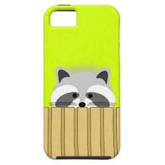 かわいいアライグマのiPhoneの場合 iPhone SE/5/5s ケース