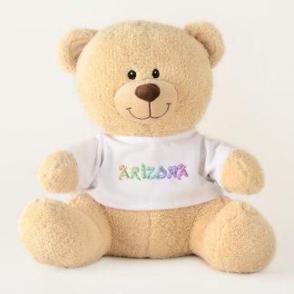 かわいいアリゾナのロゴのテディー・ベア テディベア