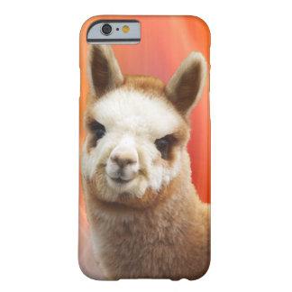 かわいいアルパカのiPhone6ケース Barely There iPhone 6 ケース