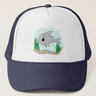 かわいいイルカの帽子 キャップ