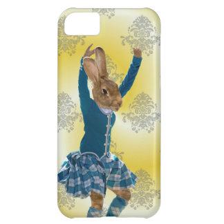 かわいいウサギのスコットランドの高地のダンサー iPhone5Cケース