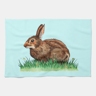 かわいいウサギの台所タオル キッチンタオル
