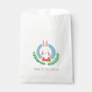 かわいいウサギ フェイバーバッグ