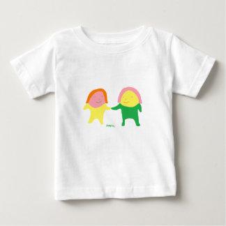 かわいいエクモチちびちゃん服 ベビーTシャツ