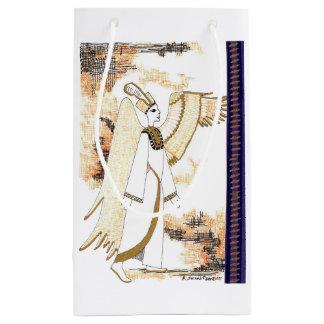かわいいエジプトの女神のスタイルのギフトバッグ スモールペーパーバッグ