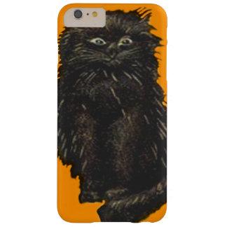 かわいいオレンジ黒猫 BARELY THERE iPhone 6 PLUS ケース