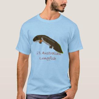 かわいいオーストラリアの肺魚 Tシャツ
