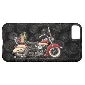 かわいいオートバイ iPhone5Cケース