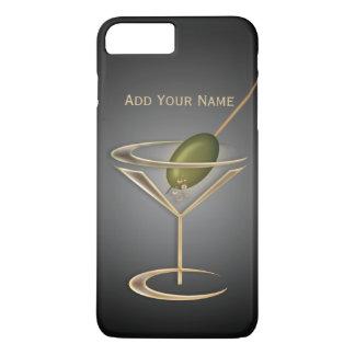 かわいいカクテルの名前入りなiPhone 5の場合 iPhone 8 Plus/7 Plusケース