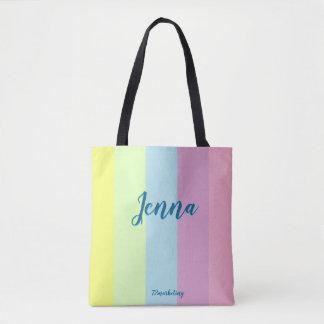 かわいいカスタムなイースタートートバックのパステル調の女の子の財布 トートバッグ