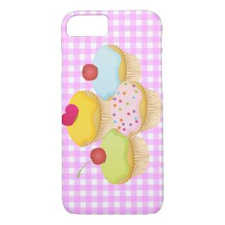かわいいカップケーキ iPhone 8/7ケース
