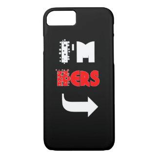 かわいいカップル「私は彼女の物」電話箱です iPhone 8/7ケース