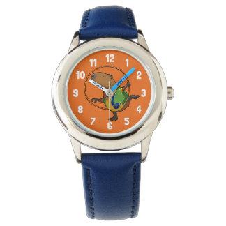 かわいいカピバラの新体操のたがの漫画 腕時計