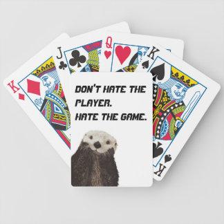 かわいいカワウソはプレーヤーの憎悪をゲーム憎みません バイスクルトランプ