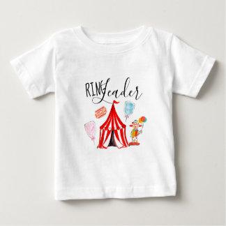 かわいいカーニバルのパーティーのリングや輪リーダーのワイシャツ ベビーTシャツ