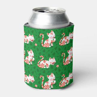 かわいいキャンディ・ケーン猫 缶クーラー