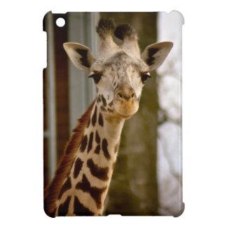 かわいいキリンの写真 iPad MINI カバー