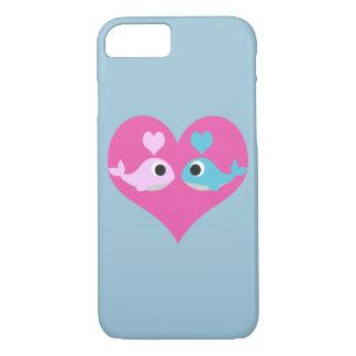 かわいいクジラ愛 iPhone 8/7ケース