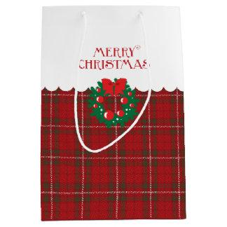 かわいいクララ-クリスマス ミディアムペーパーバッグ