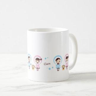 かわいいクララ-冬 コーヒーマグカップ