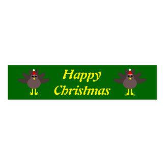 かわいいクリスマスのトルコのカスタムなナプキンバンド ナプキンバンド