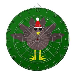 かわいいクリスマスのトルコの投げ矢板 ダーツボード